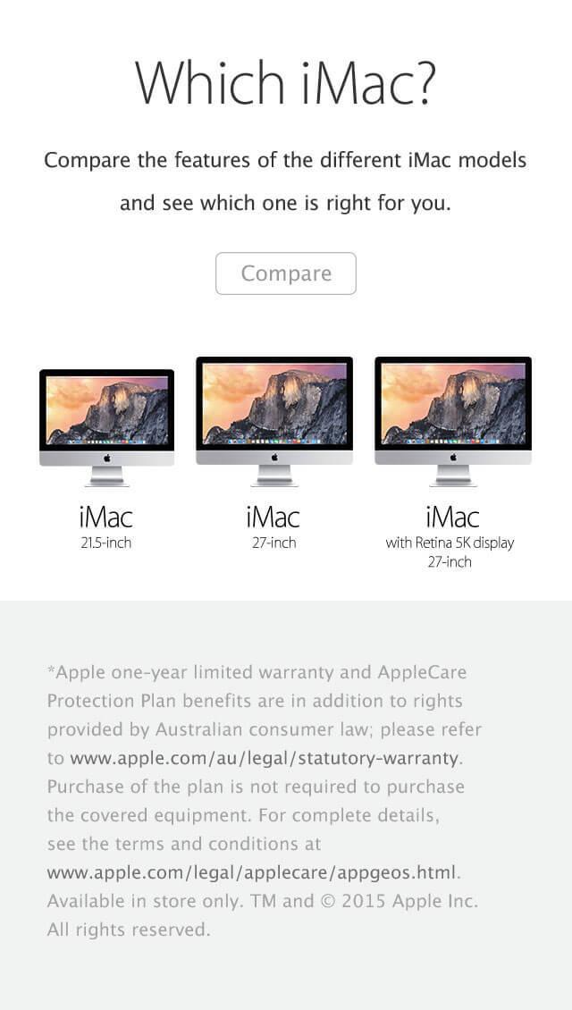 iMac 5 mobile
