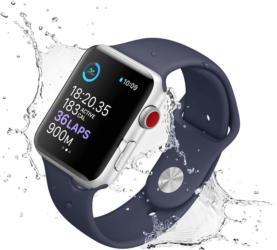swimming with apple watch series 3