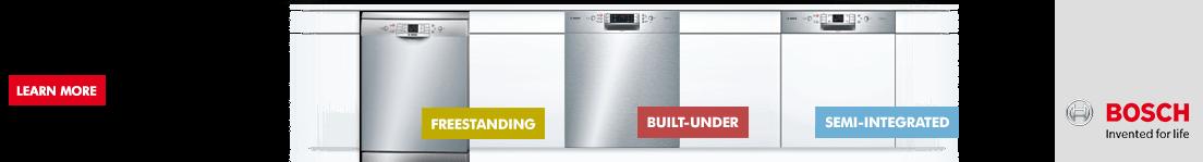 Bosch Dishwashers espot banner