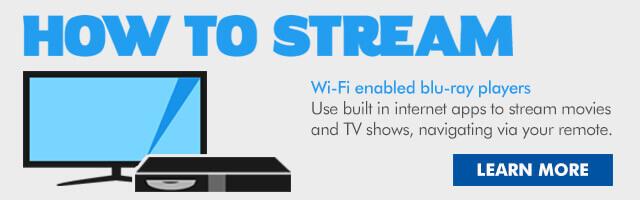 how to stream bluray