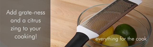 Kitchenware zesters