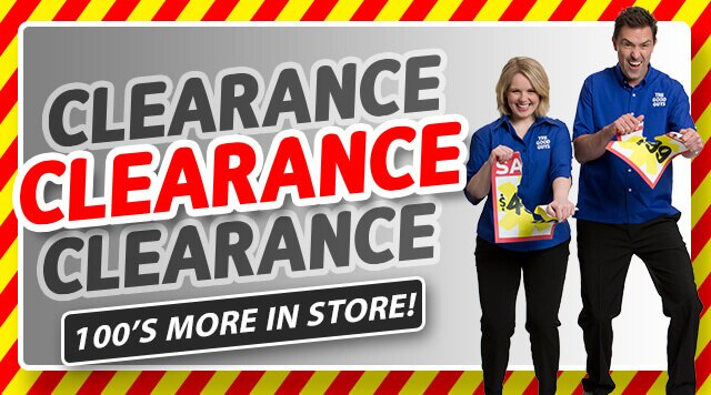 clearance mobile banner