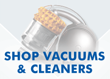 Shop vacuums & cleaners to find a deal at The Good Guys.