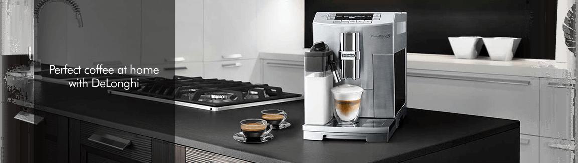 Delonghi Coffee lockup
