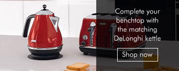 Delonghi Red Kettle prodespot
