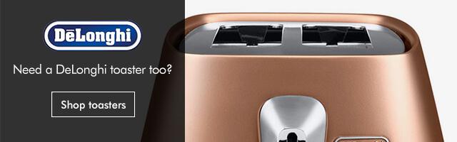 Delonghi toaster catespot mobile banner