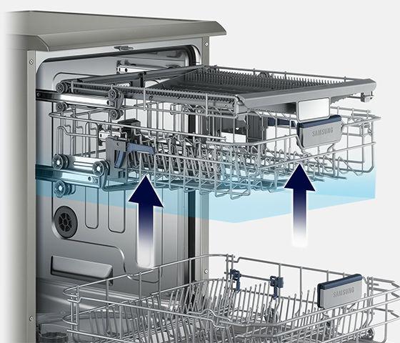 Dishwasher Flexible Shevles