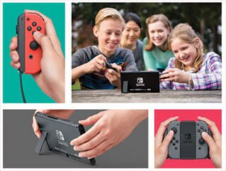 Get Nintendo Switch now from The Good Guys