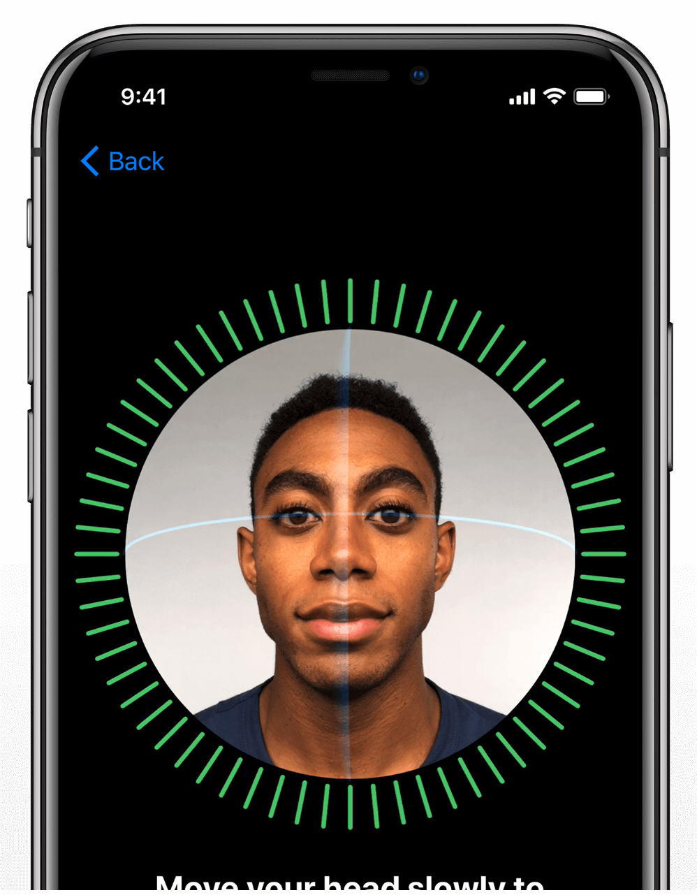 The Apple iPhone X Face ID is so easy to set up. Shop now at The Good Guys.