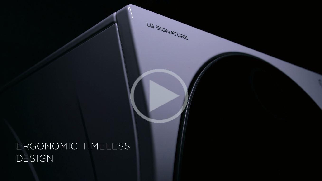 LG signature ergonomic design washer