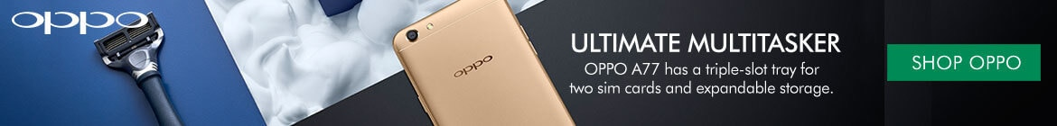 Shop Oppo A77 Mobiles at the Good Guys