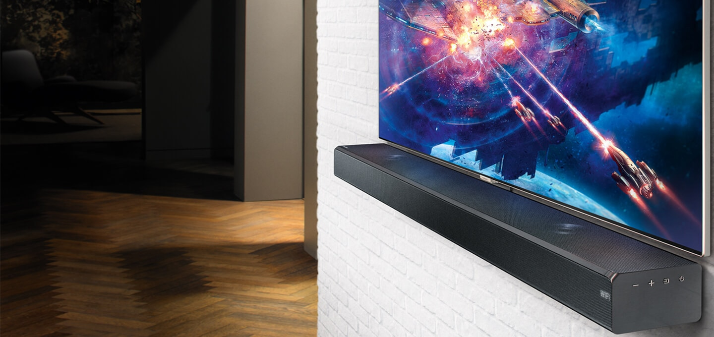 The latest Samsung soundbar range is designed to deliver cinema style sound so you feel part of the action when gaming, streaming and watching sport. Shop now at The Good Guys.