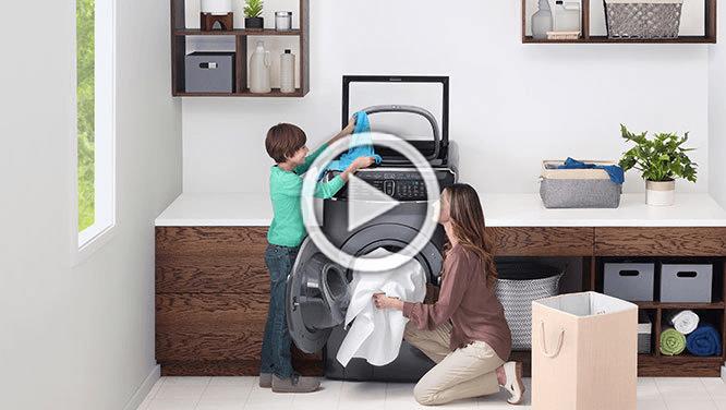 Samsung FlexWash washer